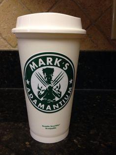 Wolverine starbucks mug