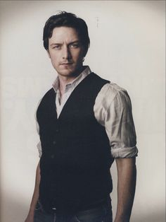 James McAvoy. Served him and his new wife fish and chips and got their autographs for 2 pickled eggs,when they were in Shameless x