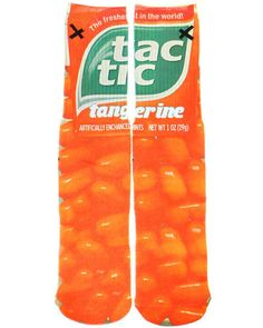 """""""Orange Tic Tac (socks) are Bleeker's one and only vice."""" 