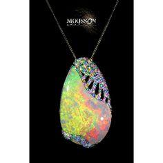 "Spectrum ""Africa"" pendant by Mousson Atelier."