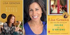 My profile of Lisa Genova, NY Times bestselling author of STILL ALICE and INSIDE THE O'BRIENS.