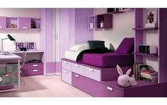 Muebles dormitorio doble ni as decoracion cuarto ninas for Disenos de cuartos para ninas adolescentes
