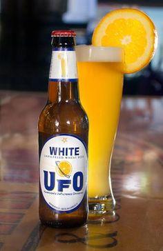 Harpoon's UFO White Unfiltered Wheat (Harpoon Brewery, Boston, Massachusetts)