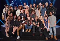 Everyone cried during Kelly Clarkson's American Idol. Everyone cried during Kelly Clarkson's American… American Idol 2016, American Idol Judges, Mackenzie Bourg, Cj Johnson, Here Comes The Judge, Spanish Song Lyrics, Dalton Rapattoni, Kelly Clarkson