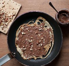 This month, we're featuring mouthwatering Nutella recipes, and today Emma from Poires…