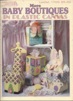 More Baby Boutiques In Plastic Canvas by KnitKnacksCreations