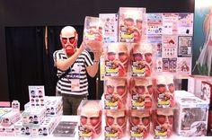 このマスクを被って塀を覗こう!!!
