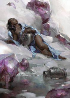 Fantasy Art & Illustration by Cynthia Sheppard
