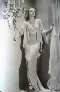 Carole Lombard with a fabulous sconce!