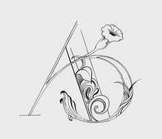 Avery Monogram by Shawn Sepehry, via Behance
