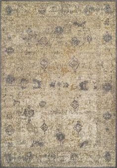 Dalyn Antiquity Aq1 Ivory-Grey Area Rug
