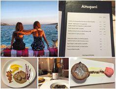 Sisters and the City son dos hermanas donostiarras que se han dado a conocer gracias a su proyecto de recomendación de planes por Donostia. Hace unos días pasaron por el Restaurante Aitzgorri.