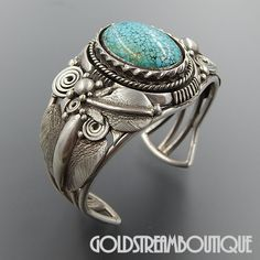 Native American Ben Begaye Navajo Sterling Silver Number 8 Turquoise F – Gold Stream Boutique Navajo Jewelry, Western Jewelry, Jewelry Art, Vintage Jewelry, Jewelry Design, Turquoise Jewelry, Turquoise Bracelet, Silver Jewelry, Silver Rings