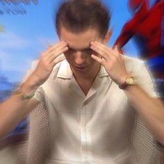 My constant mood Avengers Memes, Marvel Memes, Meme Faces, Funny Faces, Response Memes, Baby Toms, Current Mood Meme, Tom Holland Peter Parker, Tommy Boy