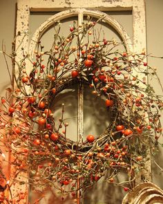 I absolutely LoVe wreaths, have about six of them just on random windows!!!!