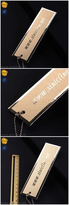 Custom luxury hang tag, hang tag design, apparel branding.   #hangtags #labeling #sinicline