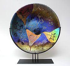Art Glass Sculpture by Karen Ehart