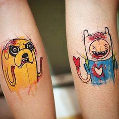 #tattoofriday - André Cruz, Trash Tattoos, São Paulo.