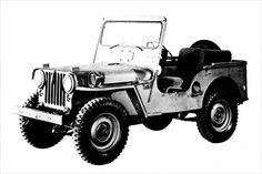 "Willys-Overland ""Jeep"" CJ-3A: 1949-1953"