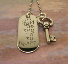 Just Remember . Metal Necklaces, Metal Jewelry, Personalized Jewelry, Handmade Jewelry, Metal Stamping, Jewelry Stamping, Hand Stamped Jewelry, Metal Crafts, Making Ideas
