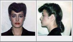 "Sean Young hair/makeup test polaroids for ""Blade Runner"""