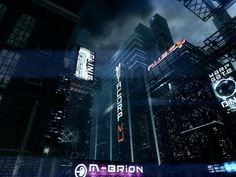 Oculus Rift application that takes you on a rollercoaster ride through a dark and mysterious city.