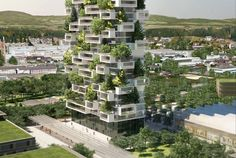 La Tour des Cedres by Stefano Boeri Architetti