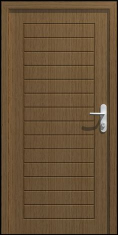 The Dor-Nir Door is designed with a simple free line engraved in a veneer board. The door is based on a common classic design using a framed horizontal engraving. Japanese Door, Classic Doors, Modern Door, Security Door, Steel Doors, Entrance Doors, Exterior Doors, Wooden Doors, Door Design
