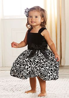 0b688512b501e Details about Mud Pie Baby Girl Silk White/Ivory Gold Ric Rac PARTY DRESS  Wedding 0-6 months