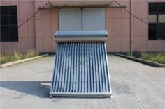 Solar Water Heater 200 liters Evacuated Tube Solar Collector Thermosyphon Heating System by yassolar Solar Energy Panels, Best Solar Panels, Solar Energy System, Installation Solaire, Solar Installation, Solar Collector, Passive Solar Homes, Solar Water Heater, Solar Panel System