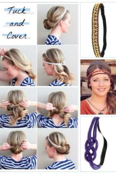 Paparazzi Hippie Headbands!    For more information about Paparazzi $5 Accessories: www.facebook.com/papalm www.paparazziaccessories.com/23408 colama@live.com