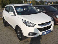 Hyundai ix35 z roku 2014 na sprzedaż! Za kwotę 65 500 PLN otrzymujecie pojazd z silnikiem 1.6, przebiegiem 17200 km oraz wielkim pakietem dodatków!   Przekonajcie się sami na http://dex-pol.hyundai.pl/Auto/Samochod_dealera/2967/