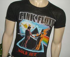 RARE 1980 Pink Floyd Original Vintage Rock Concert Tour T Shirt s M 70s 80s | eBay