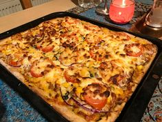 Rye sourdough pizza base Sourdough Pizza, Rye Flour, Thin Crust Pizza, Us Election, Dry Yeast, Hawaiian Pizza, Starters, My Recipes, Vegetable Pizza