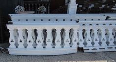 wooden balcony sawed railing - Google otsing