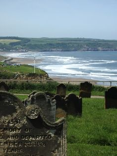 I love Whiby.  We used to love sitting in that graveyard watching the sun go down