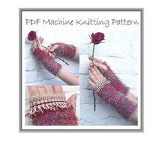 *** THIS IS A MACHINE KNITTING PATTERN *** This is not an actual garment, it is a downloadable PDF PATTERN which you can access via your Etsy account after your payment is processed. You will need a PDF reader such as Adobe to see the file. ---------------------------------------