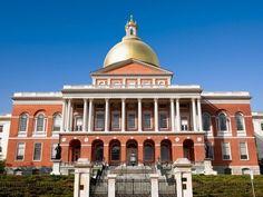 State Capitols : BOSTON, MASSACHUSETTS