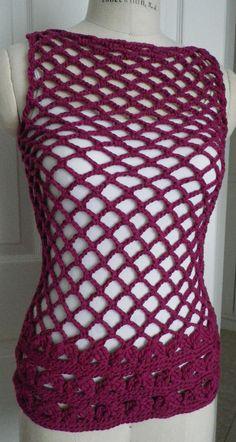 Crochet Mesh Tunic | jkaori | Flickr