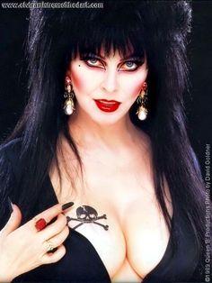Elvira, Mistress Of The Dark. Another 80's crush.