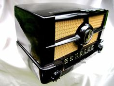 Emerson Deco Compact Radio Pristine Plascon M 587A C 1951 Amazing Original AA5 | eBay