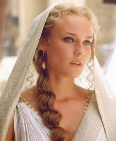 Diane Kruger Photo: This Photo was uploaded by alanscharf. Find other Diane Kruger pictures and photos or upload your own with Photobucket free image an. Diane Kruger Troy, Most Beautiful Women, Beautiful People, Troy Movie, Troy Film, Greek Goddess Hairstyles, Grecian Hairstyles, Divas, Helen Of Troy