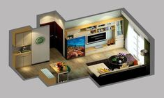 Small house interiors design small house interior design aquarium homes bedroom living room small bungalow house .