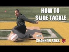 Soccer Drills: How to Slide Tackle with Shannon Boxx