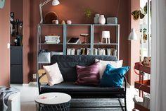 catalogue IKEA 2018 canapé-HAMMARN-salon-chic-idées-déco