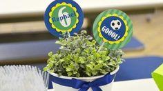 Se você vai organizar uma festinha de aniversário para seu filho nesta época da Copa do Mundo ou se