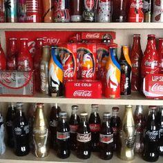 My coca cola collection