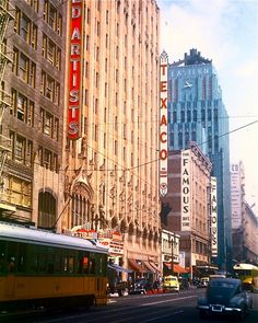 Eastern-Columbia and United Artists buildings, Broadway, downtown Los Angeles
