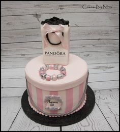 Pandora - Cake by Cakes by Nina Camberley