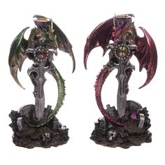Click and shop now for Slayer Dark Legends Dragon Figurine by weeabootique